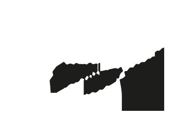Schwarz-weiß Logo Fehling Zahntechnik